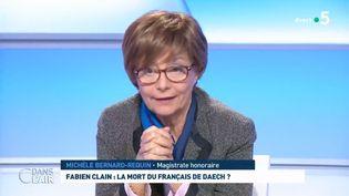 """Michèle Bernard-Requin, dans l'émision """"C dans l'air"""" sur France 2 en février 2019. (FRANCE 5 / """"C dans l'air"""")"""