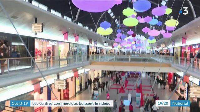 Covid-19: les grands centres commerciaux s'apprêtent à fermer leursportes