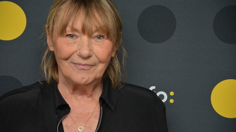 Catherine Sinet, directrice de la rédaction de Siné Mensuel. (JEAN-CHRISTOPHE BOURDILLAT / RADIO FRANCE)