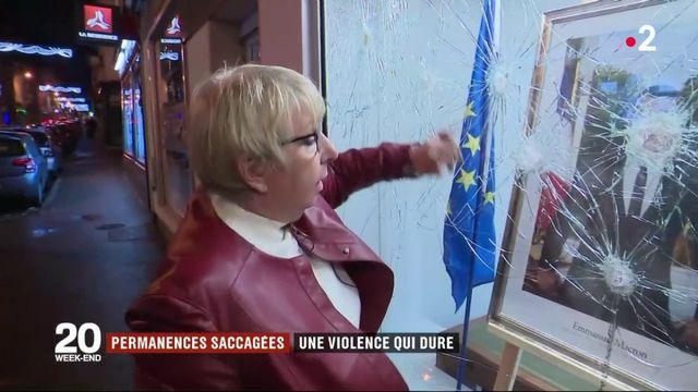 Permanences saccagées : une violence qui dure depuis des mois