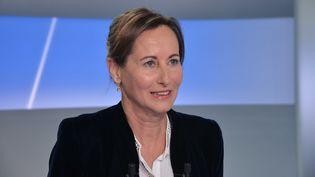 """Ségolène Royal sur le plateau de """"C Politique"""", l'émission de France 5, le 2 juin 2013. (IBO/SIPA)"""