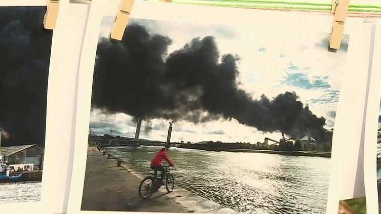 Explosion de l'usine Lubrizol : deux ans plus tard, le traumatisme est toujours là (France 3)