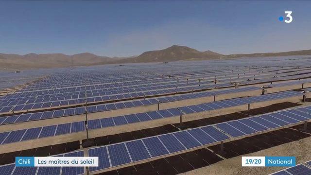 Énergie : au Chili, les groupes français investissent dans le solaire