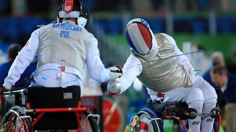 Maxime Valet remporte la médaille de bronze au fleuret
