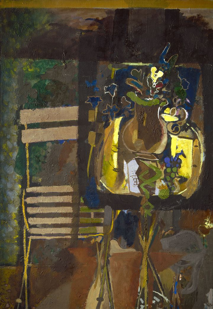 """Georges Braque, """"The Garden Table"""", 1952, USA, Washington, National Gallery of Art, Collection of Mr. and Mrs. Paul Mellon (© Paris, ADAGP 2019)"""