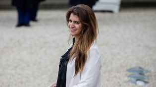 Marlène Schiappa, la secrétaire d'Etat chargée de l'Egalité hommes femmes, a annoncé des mesures pour lutter contre le harcèlement sexuel au Festival de Cannes  (Aurelien Morissard / MaxPPP)