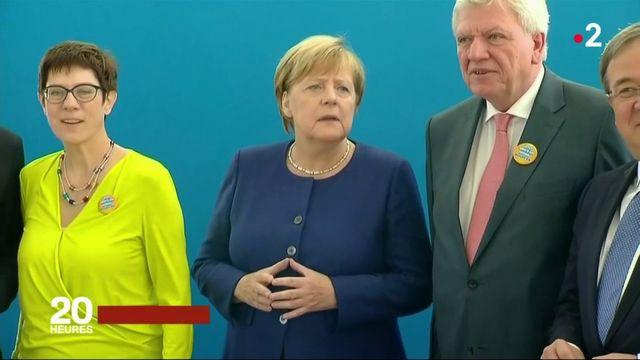 Allemagne : Angela Merkel affaiblie par les élections en Bavière