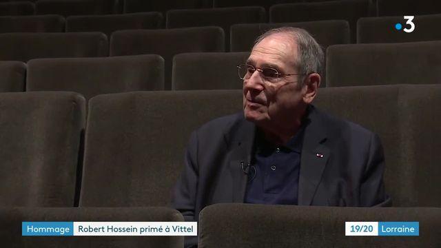 Robert Hossein primé à Vittel