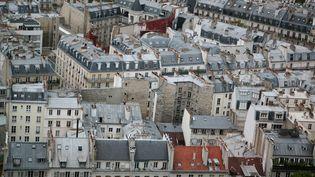 Des immeubles à Paris dans le 5e arrondissement (illustration). (VINCENT ISORE / MAXPPP)