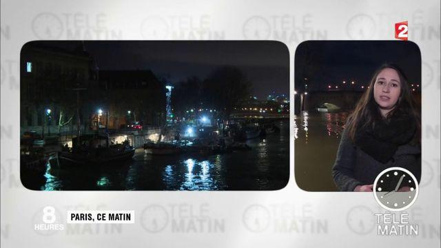 Inondations à Paris : les transports paralysés