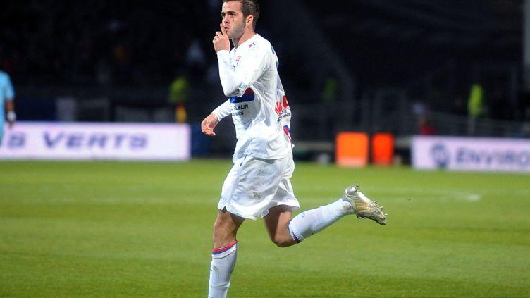 Après s'être révélé très jeune à Metz, Miralem Pjanic a fait les beaux jours de l'OL entre 2008 et 2011. (PHILIPPE MERLE / AFP)