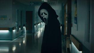 """Ghostface, le tueur au couteau de """"Scream"""", sera de retour en janvier 2022 au cinéma. (Copyright Paramount Pictures Germany)"""