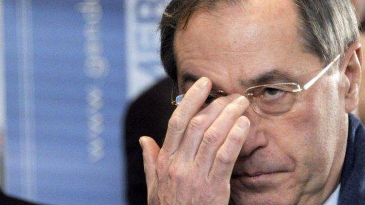 Claude Guéant (13 janvier 2012) (DAMIEN MEYER / AFP)