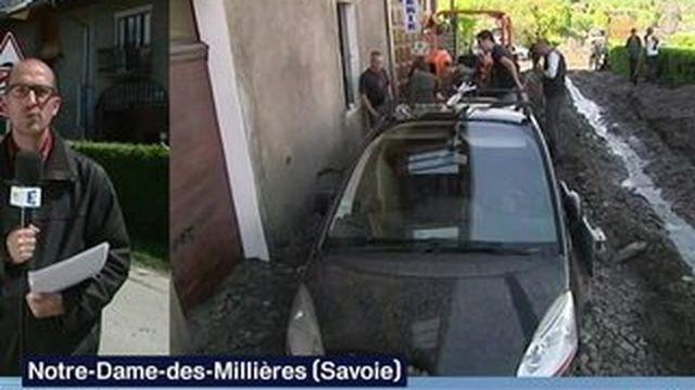 Savoie : les intempéries ont fait d'importants dégâts