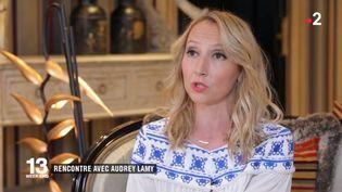 """Audrey Lamy au sujet du film """"Ma Reum"""" qui sort le mercredi 18 juillet 2018 (FRANCE 2)"""