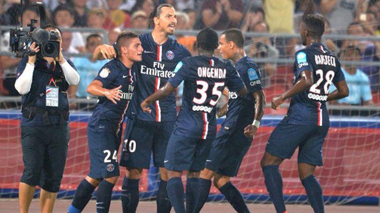 Zlatan Ibrahimovic et ses coéquipiers du PSG tenteront de bien débuter leur championnat (KE WEI / IMAGINECHINA)