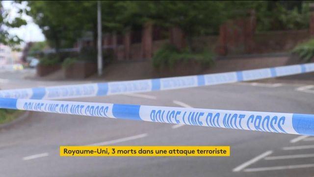 Royaume-Uni : 3 morts à la suite d'une attaque au couteau