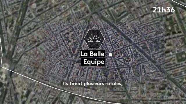Le déroulé des attentats du 13 novembre 2015.