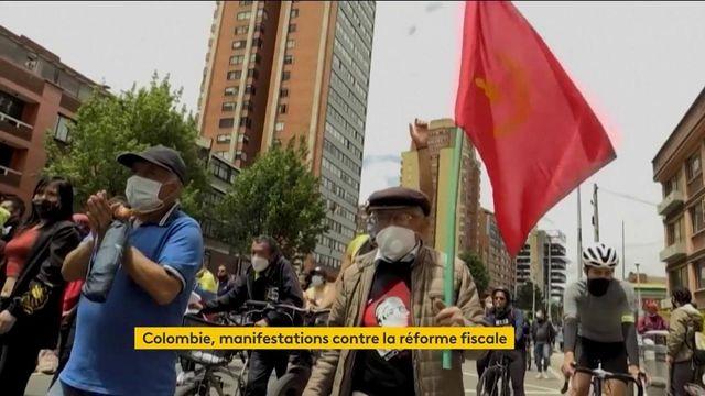 Colombie : les manifestants obtiennent le retrait de la réforme fiscale