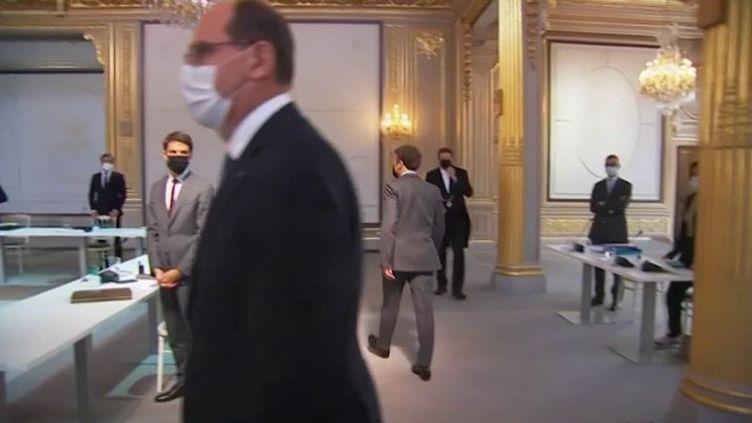 Élysée : de nouveau un conseil des ministres en présentiel (France 3)