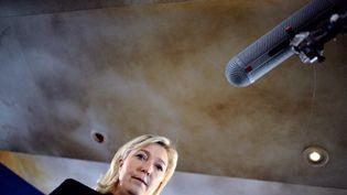 La candidate du FN à l'Elysée, Marine Le Pen (1er février 2012) (MARTIN BUREAU / AFPAFP)