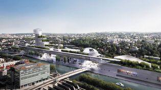 Le projet de Jean Nouvel pour l'île Séguin, choisi par les électeurs de Boulogne-Billancourt  (Ateliers Jean Nouvel)