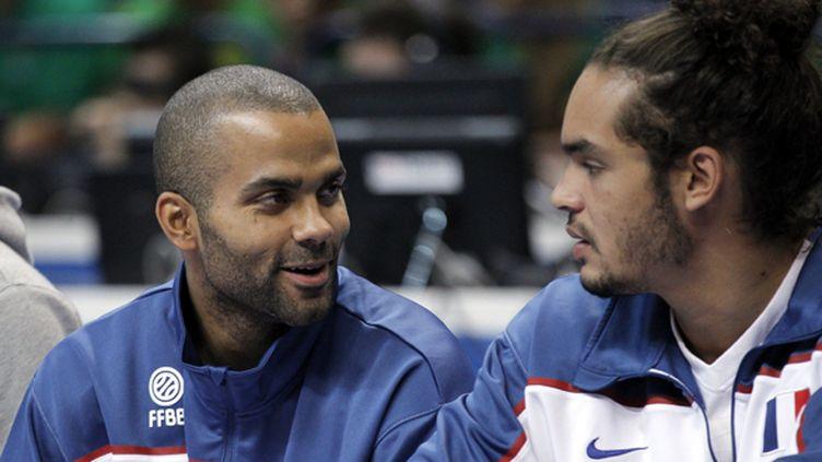 Les deux All-Stars se retrouveront-ils sous le maillot bleu pour l'Euro 2013?  (JUANJO MARTIN / MAXPPP TEAMSHOOT)