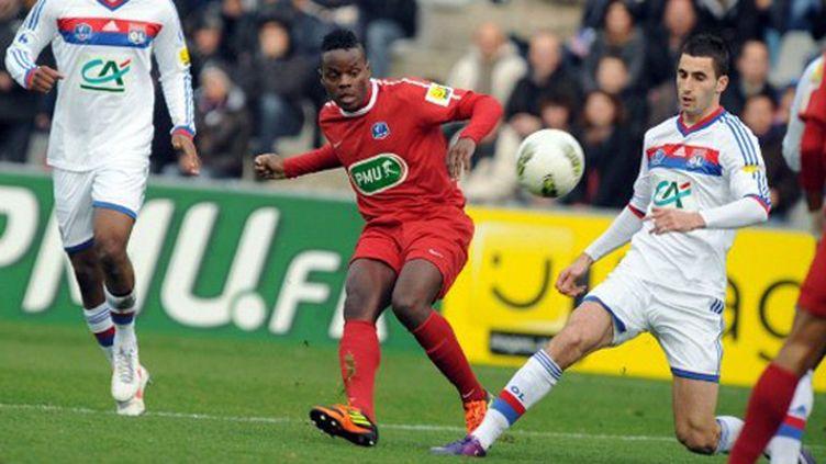 Luçon a tenu tête à Lyon en Coupe de France (FRANK PERRY / AFP)