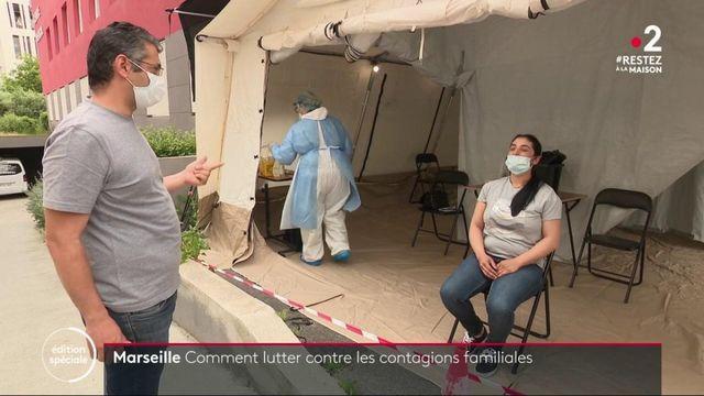 Coronavirus : des foyers épidémiques familiaux à Marseille