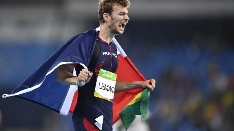 Le sprinteur français Christophe Lemaître (FABRICE COFFRINI / AFP)
