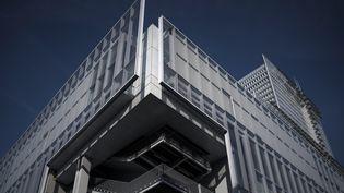 Quatorze suspects comparaîtront en septembre au nouveau palais de justice de Paris dans le procès des attentats de Charlie Hebdo, Montrouge et de l'Hyper Casher en 2015. (PHILIPPE LOPEZ / AFP)