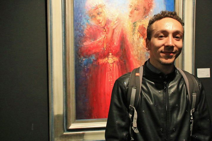 "Aymen Fikri, danseur dans ""Danser Casa""  (S.Jouve/Culturebox)"