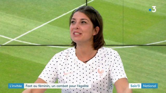Coupe du monde : Lucie Brasseur croit en l'avenir du football féminin