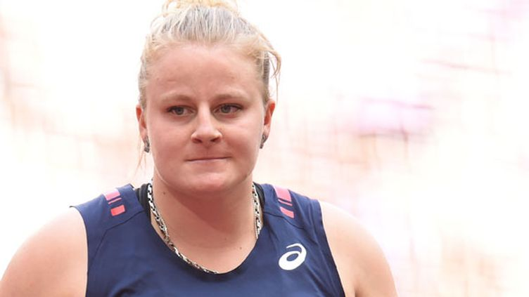 La lanceuse de poids tricolore Alexandra Tavernier