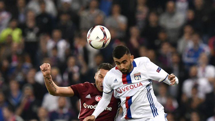 Lyon face au Besiktas Istanbul (JEFF PACHOUD / AFP)