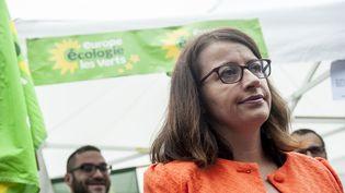 La candidate à la primaire EELV Cécile Duflot à Tourcoing (Nord), le 5 septembre 2016. (JULIEN PITINOME / NURPHOTO / AFP)