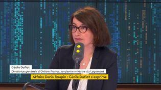 Cécile Duflot était l'invitée de 8h30 de franceinfo le samedi 9 mars 2019. (FRANCEINFO / RADIOFRANCE)