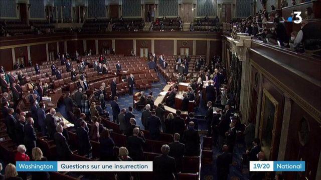 États-Unis : les questions qui se posent un jour après l'attaque du Capitole
