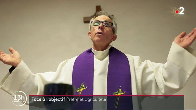 Isère : Jean-Paul Havard, prêtre et agriculteur