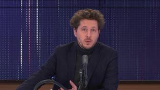 """Julien Bayou,secrétaire national d'Europe Écologie-Les Verts était l'invité du """"8h30 franceinfo"""", vendredi 22 janvier 2021. (FRANCEINFO / RADIOFRANCE)"""