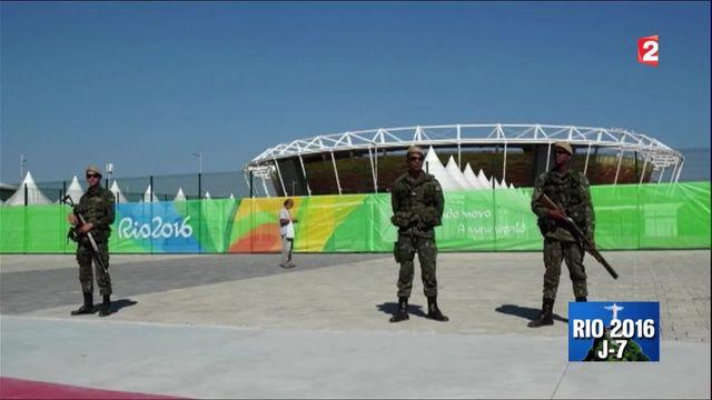 Jeux Olympiques : Rio placée sous haute sécurité