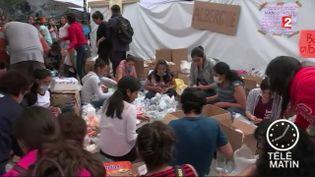 Au Mexique, la solidarité s'organise après le sésisme (France 2)