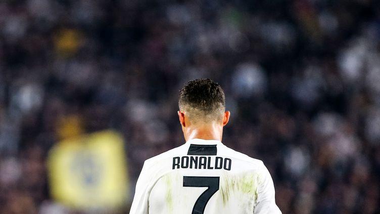 Le footballeur Cristiano Ronaldo, au Giuseppe Allianz Stadium, le 29 septembre 2018, à Turin (Italie). (ALESSIO MORGESE / DPPI MEDIA / AFP)