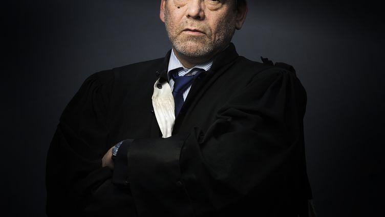 L'avocat Frank Berton, le 3 février 2015 à Paris. (JOEL SAGET / AFP)
