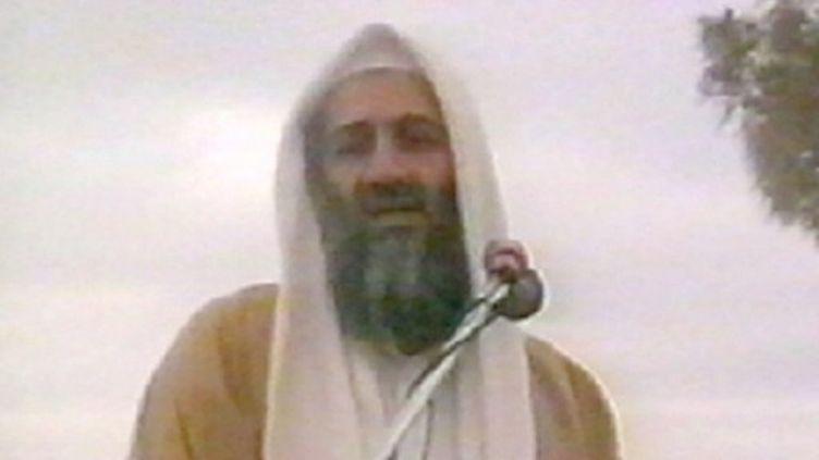 Photo d'Oussama Ben Laden, non datée, tirée d'une vidéo d'archives (AFP)