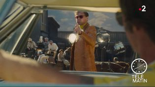 "Leonardo Dicaprio, dans ""Once Upon a Time... in Hollywood"" de Quentin Tarantino. (France 2)"