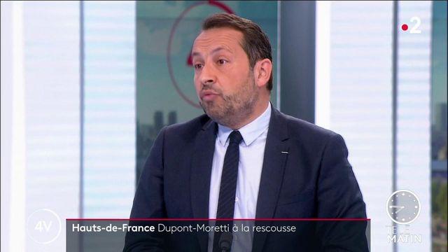 Régionales en Hauts-de-France: «Eric Dupond-Moretti arrive en service commandé d'Emmanuel Macron», estime Sébastien Chenu (RN)
