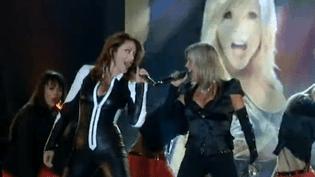 Sabrina et Samantha Fox sur scène  (France3/culturebox)