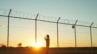 Le camp de rétention de réfugiés de Barton au sud de l'Australie. (BEN KING/NETFLIX)