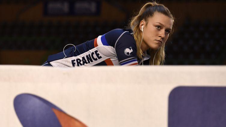 La Française Mathilde Gros (NICOLAS TUCAT / AFP)